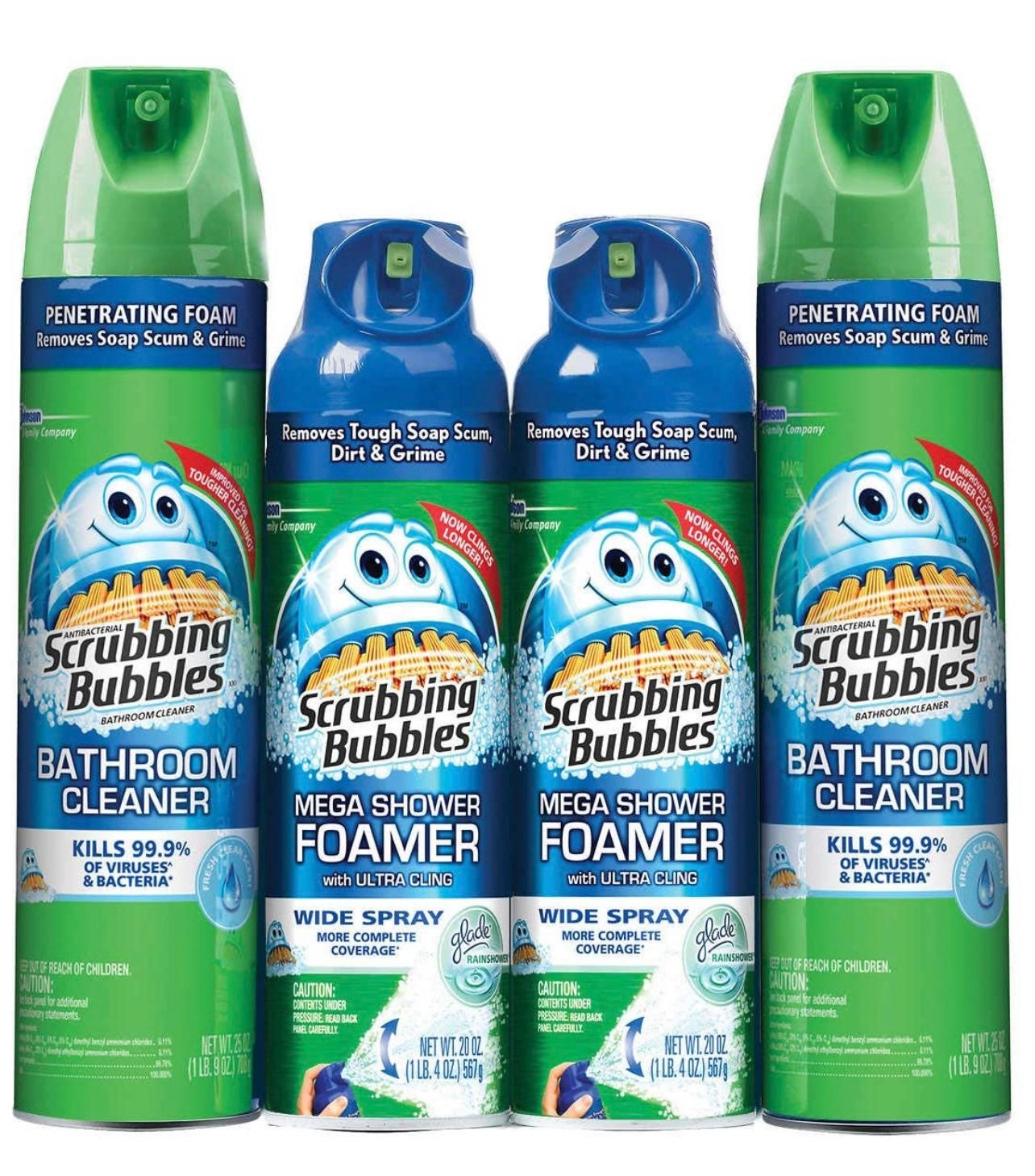 Disinfectant Spray Bundle 8 Cans