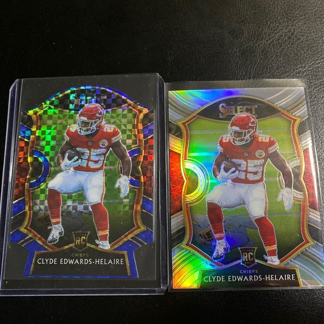 Clyde Edwards-Helaire Rookie Lot