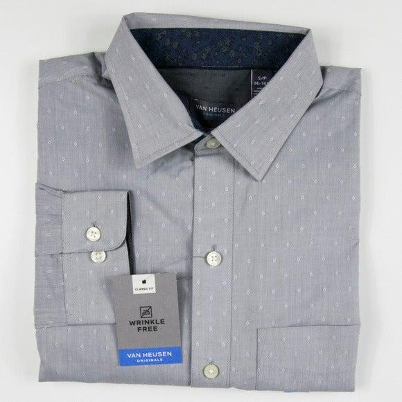 VAN HEUSEN Wrinkle Free Shirt Size S #51