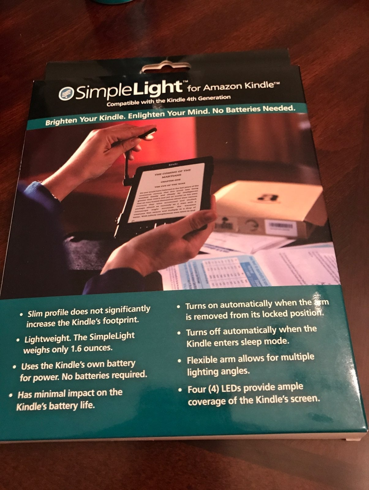 Simple Light for Amazon Kindle