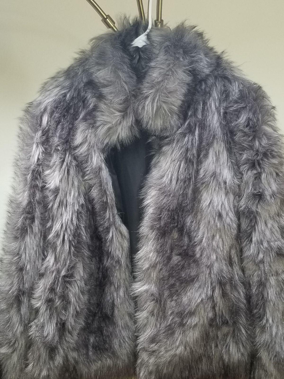 Fux Fur Coat by Wildflower