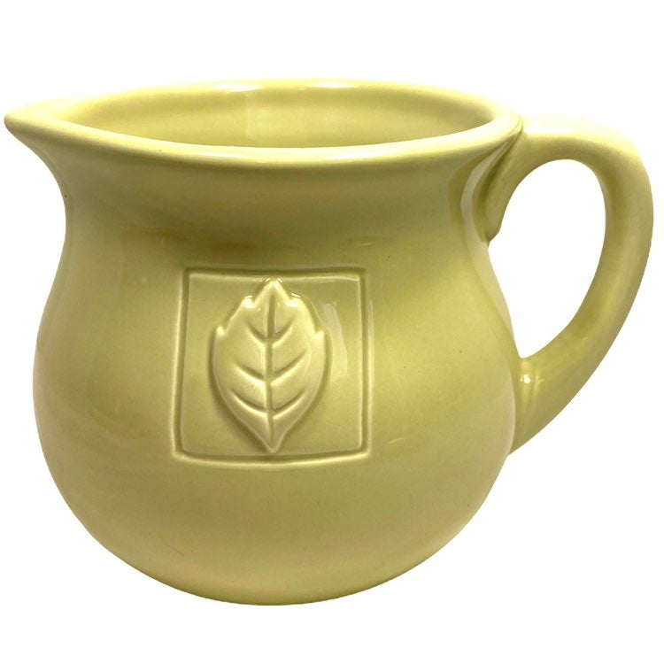 Country Gate Green Creamer Pitcher