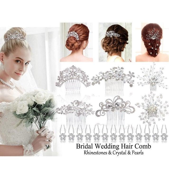 NEW Weddings Bridal Hair Clips Accessori