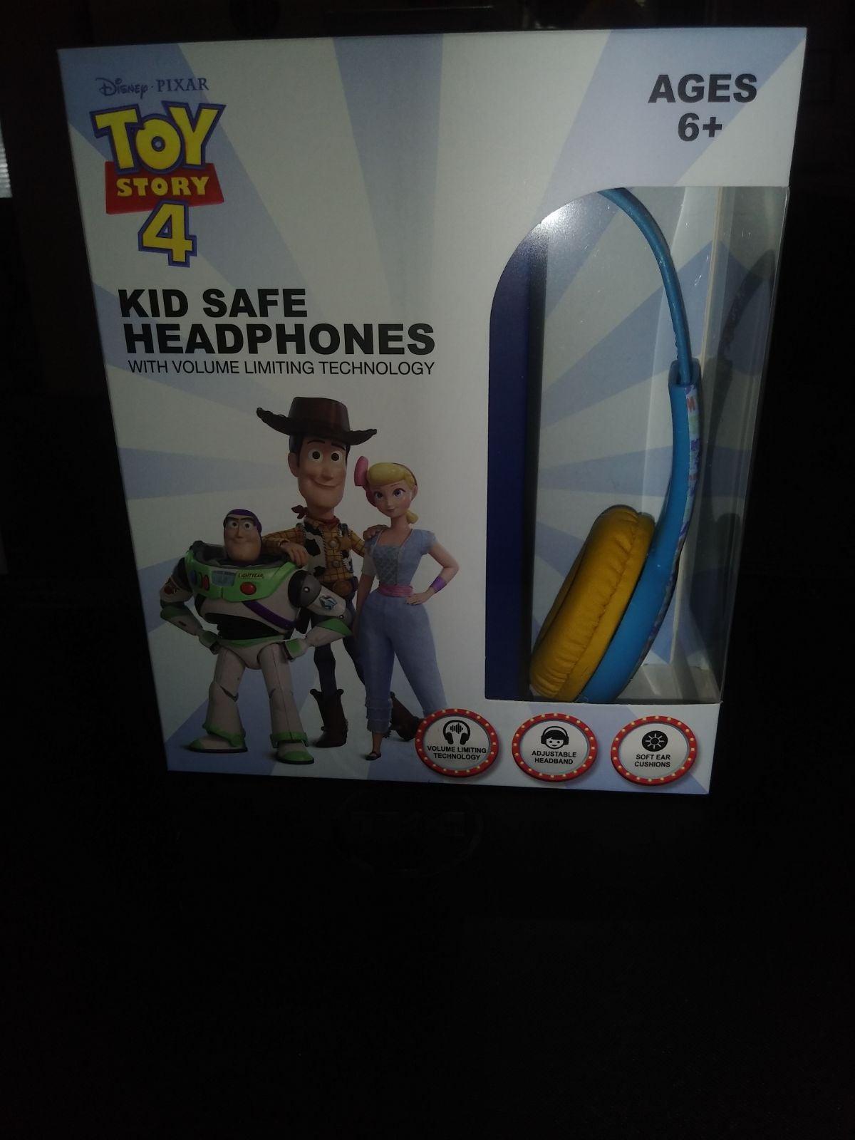 Toy stories 4 kids safe headphones