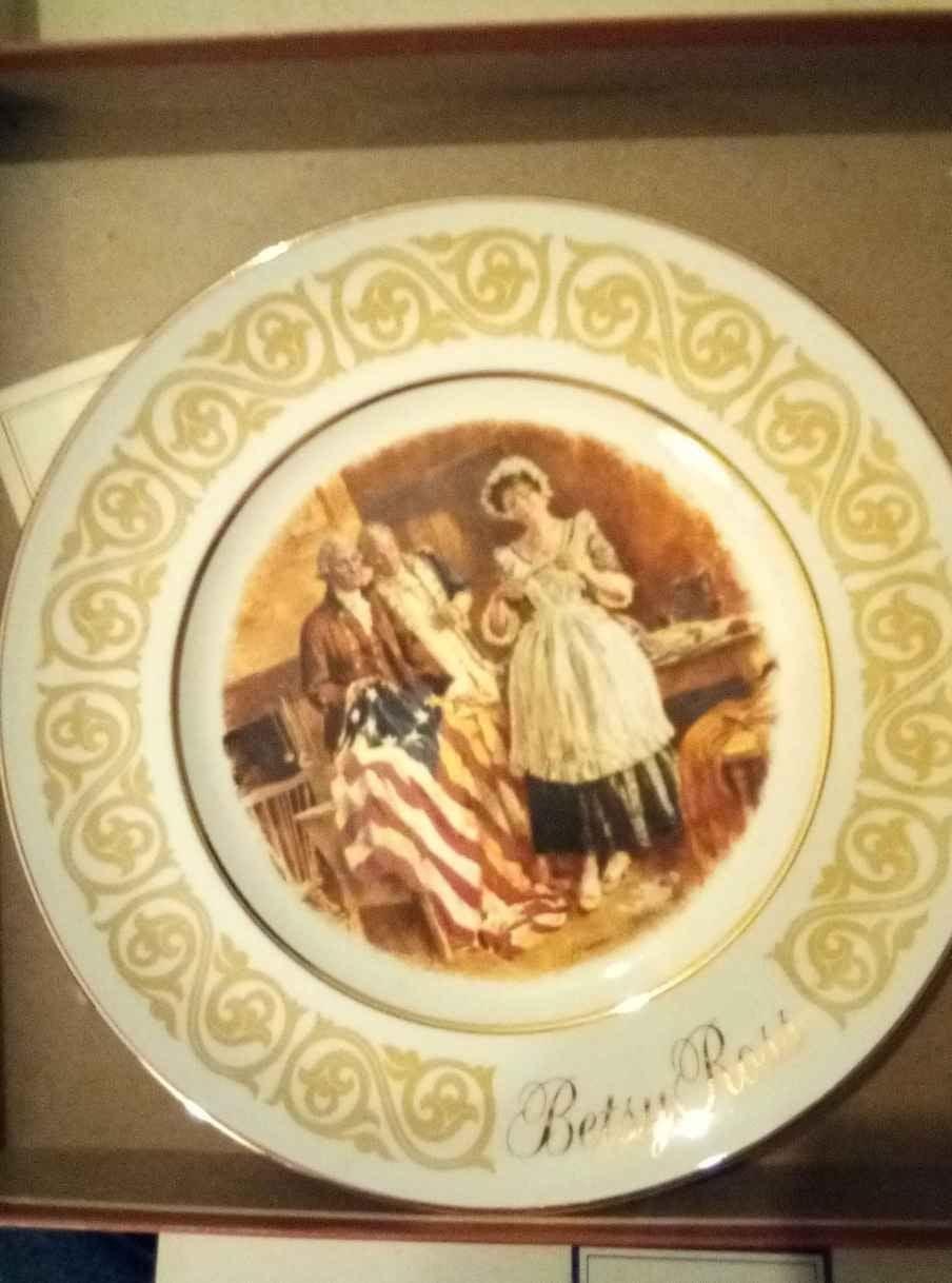 3 Vintage AVON Collectable plates