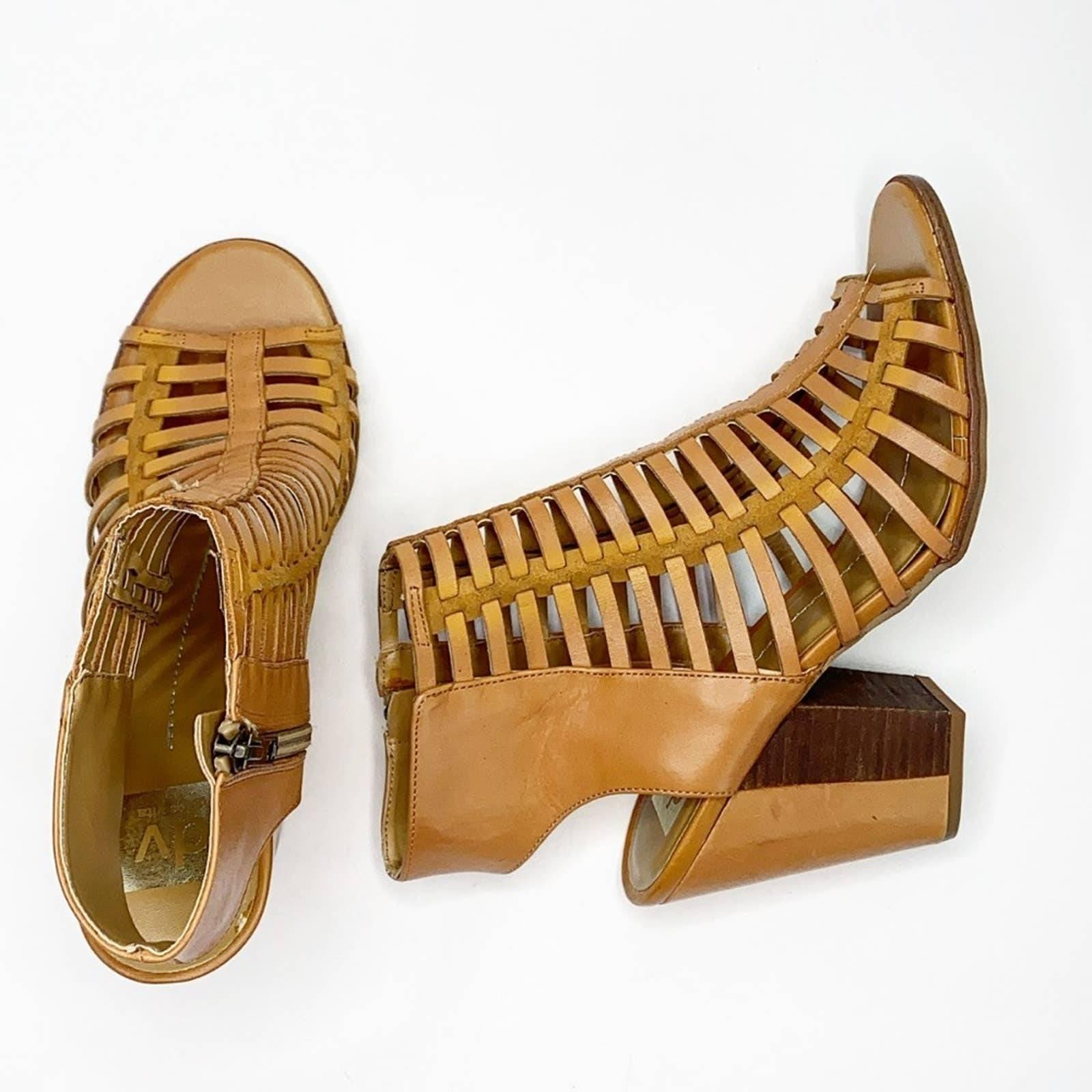DV DOLCE VITA gladiator block heel shoes