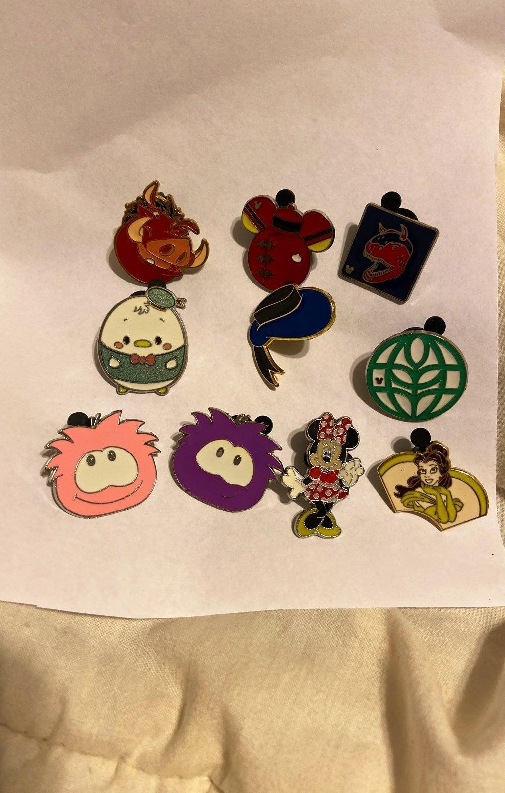 Disney pin lot of 10