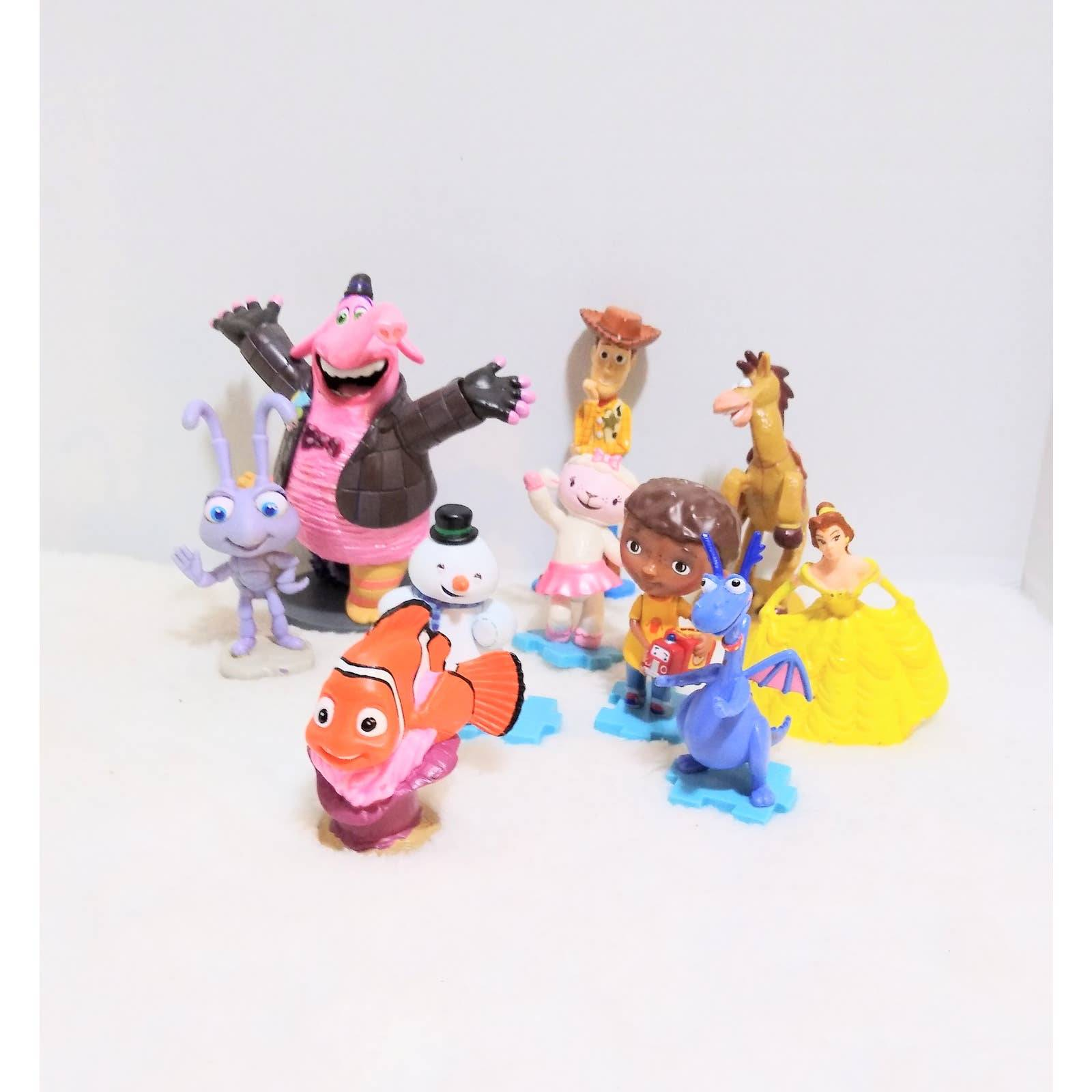 Disney lot of cake toppers