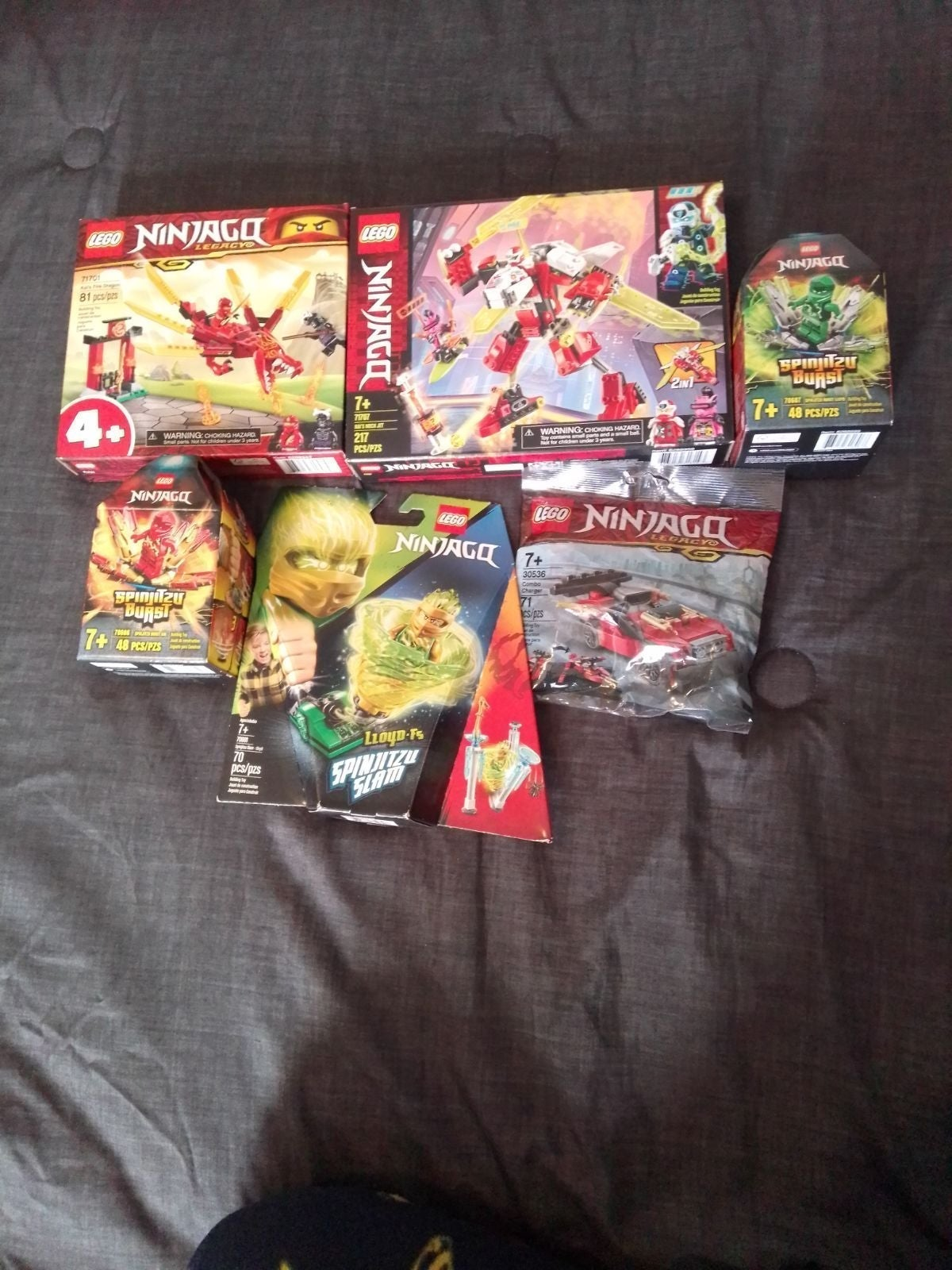 Ninjago 6 Set Bundle