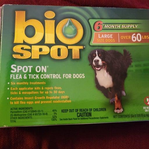 Bio spot flea & tick