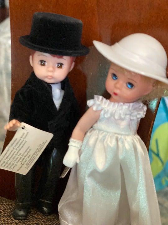MADAME ALEXANDER Bride & Groom Dolls