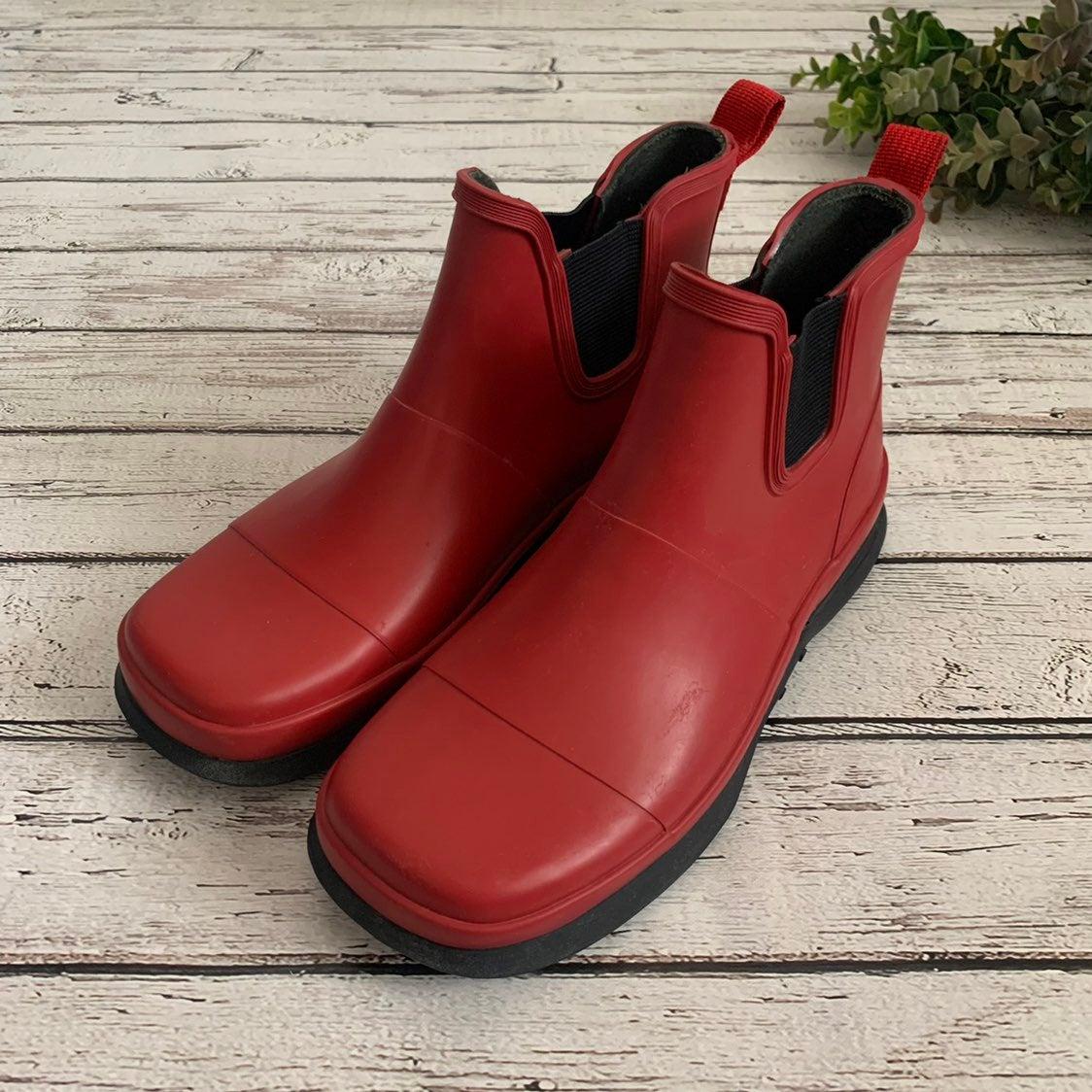 Eddie Bauer Ankle Rain Boots size 7