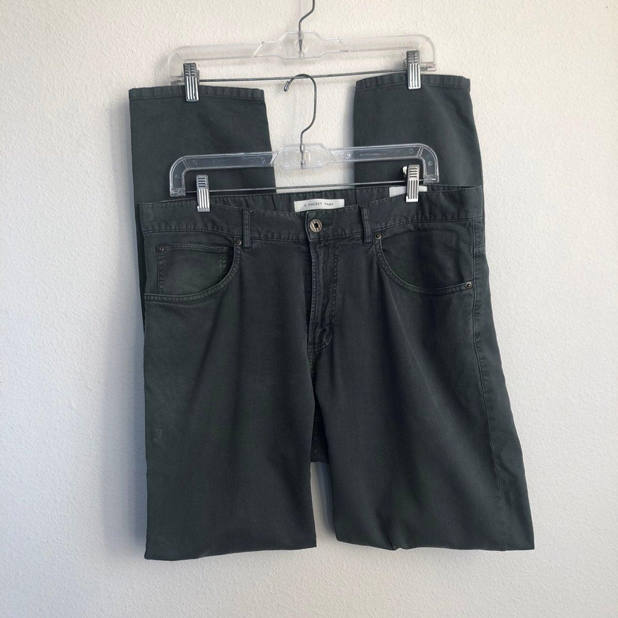 Billy Reid Bedford Green 5 Pocket Pants