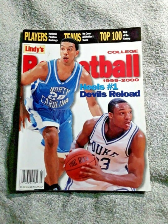 Lindys 1999 College Basketball Magazine