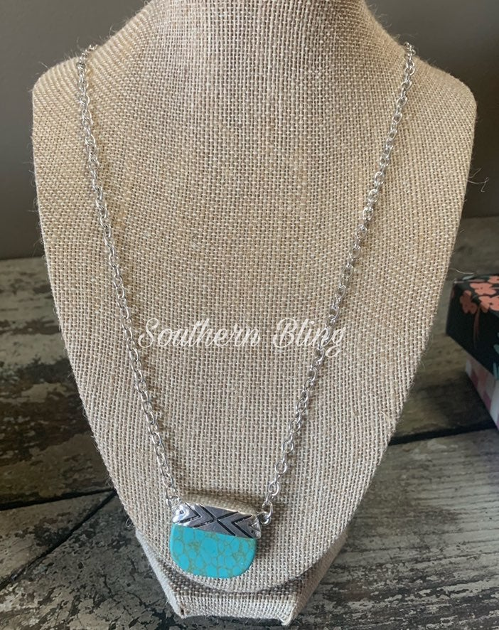 Plunder Lonnie Turquoise Necklace