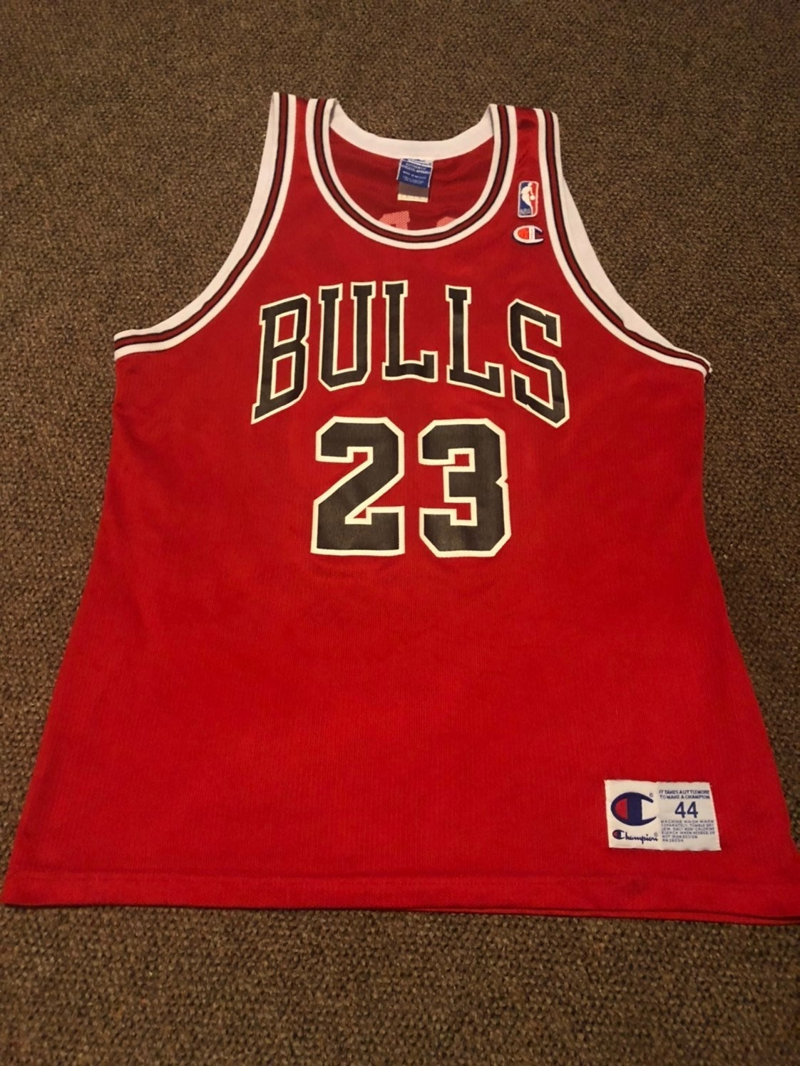 100% Authentic Jordan Champion Jersey
