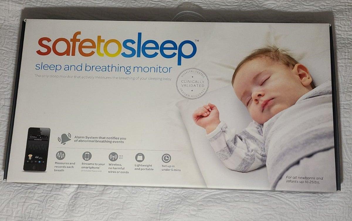 Safe to Sleep Breathing Baby Monitor