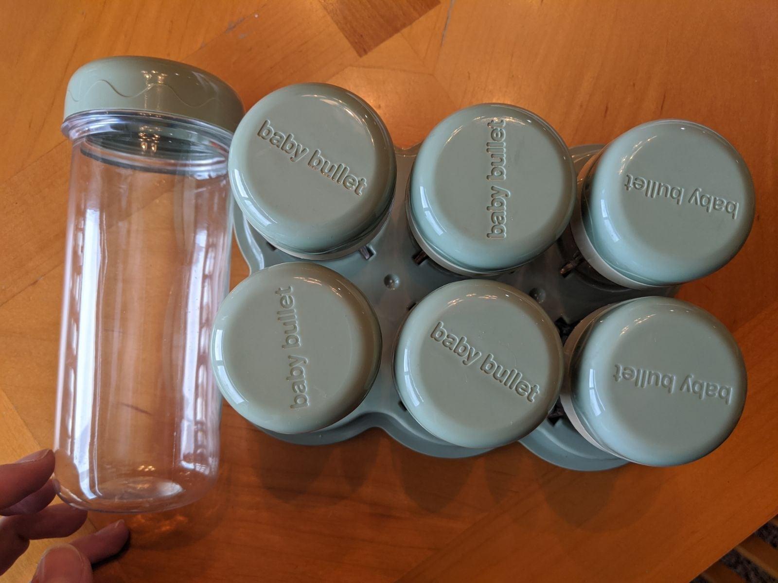 Baby Bullet cups