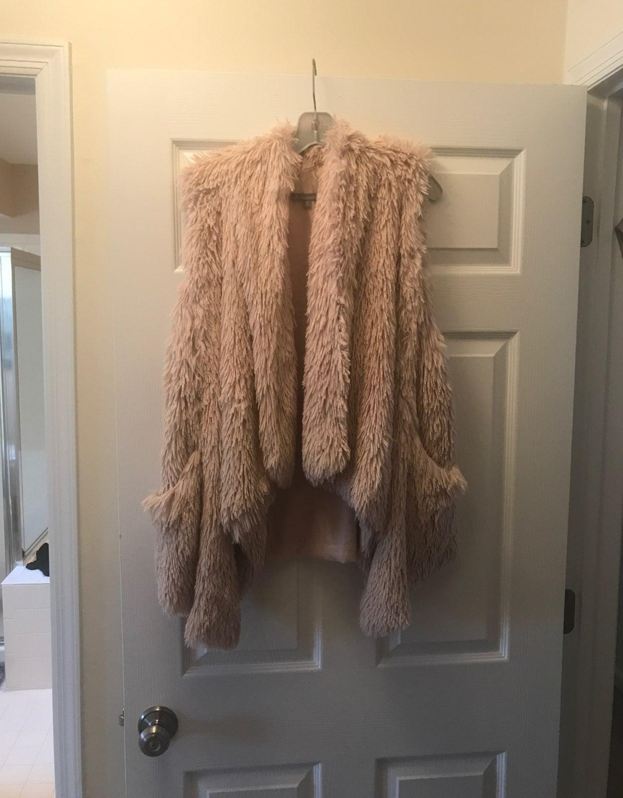Wit & Wisdom Faux Fur Vest