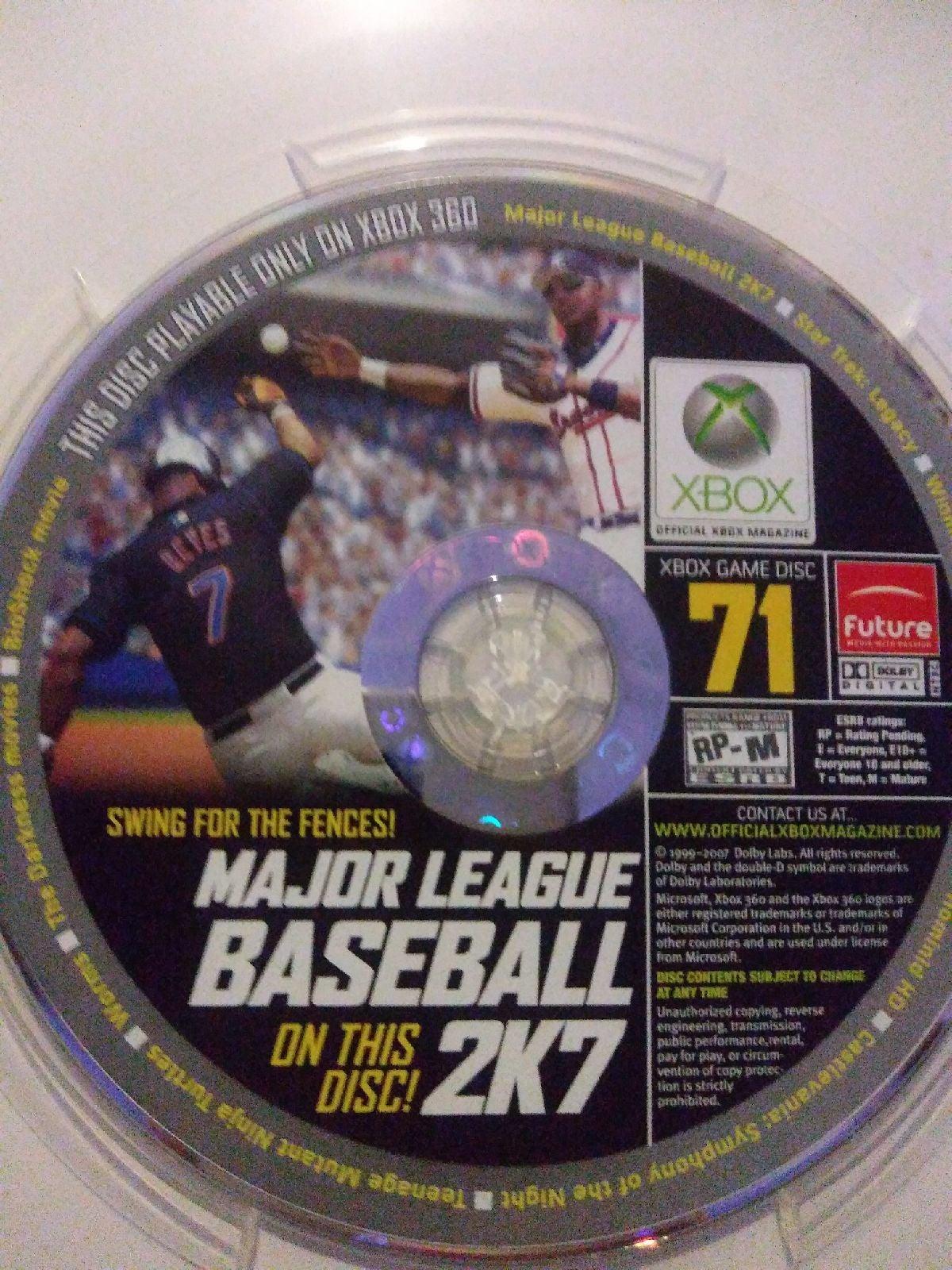 Major Baseball Demo Xbox 360