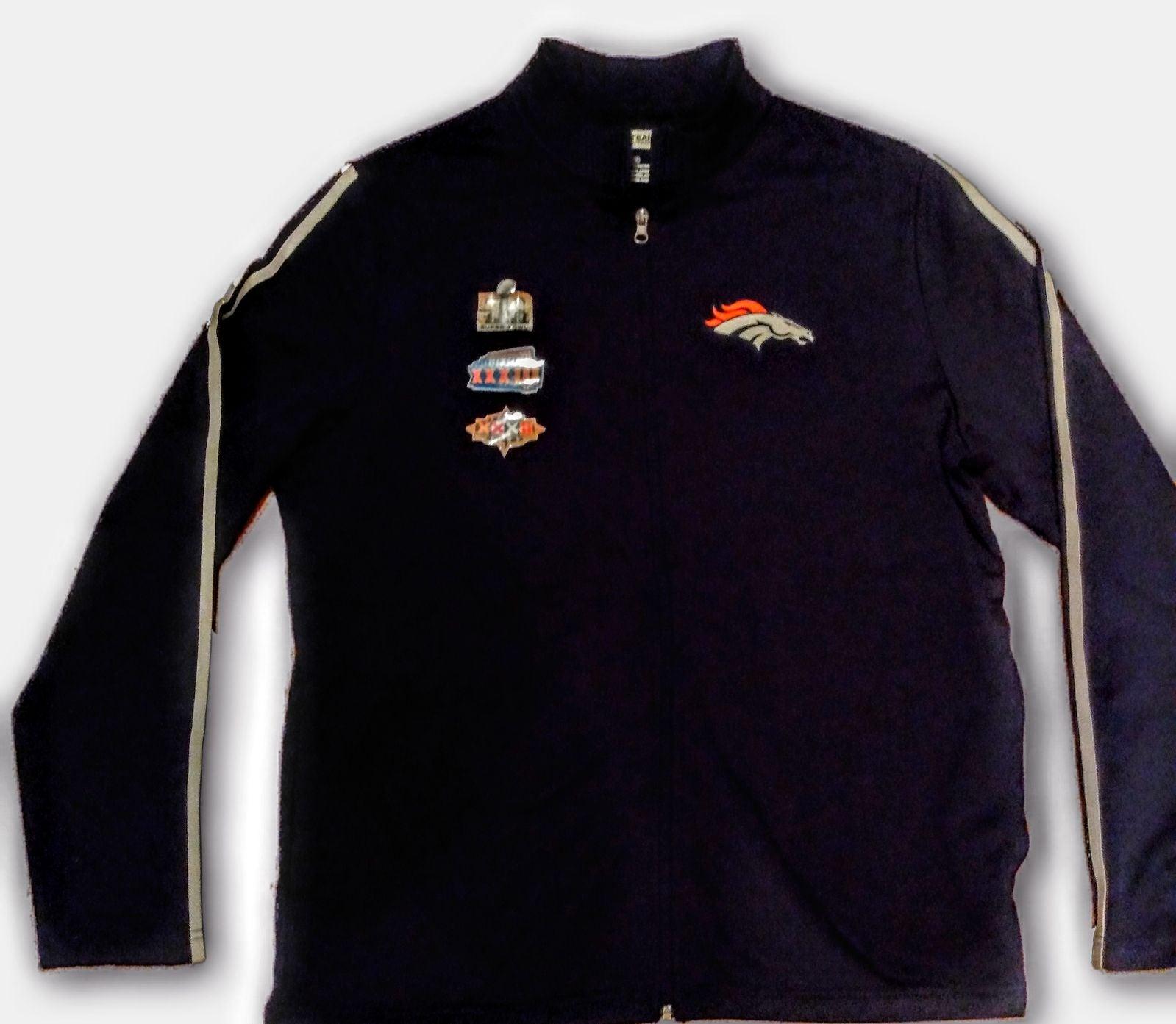 Denver Broncos Super Bowl Track Jacket