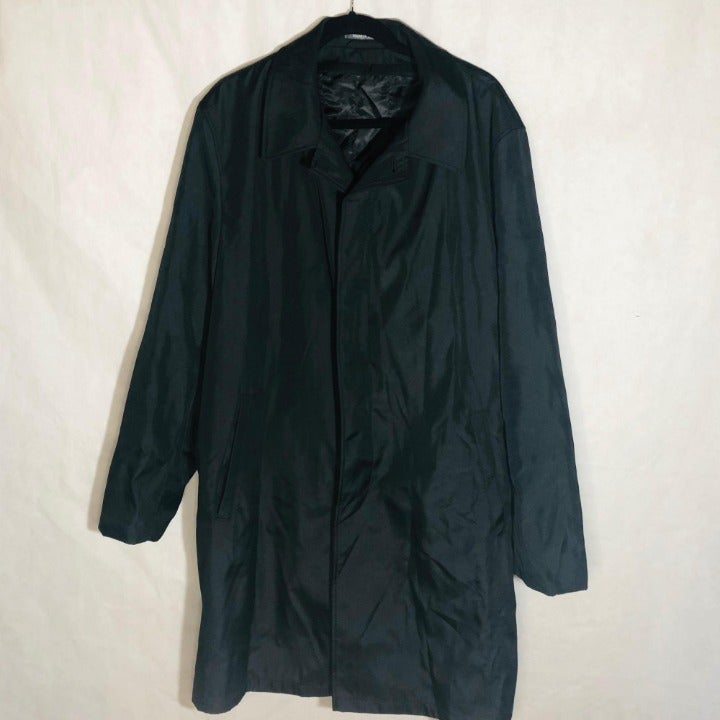 Perry Ellis Portfolio rain jacket black