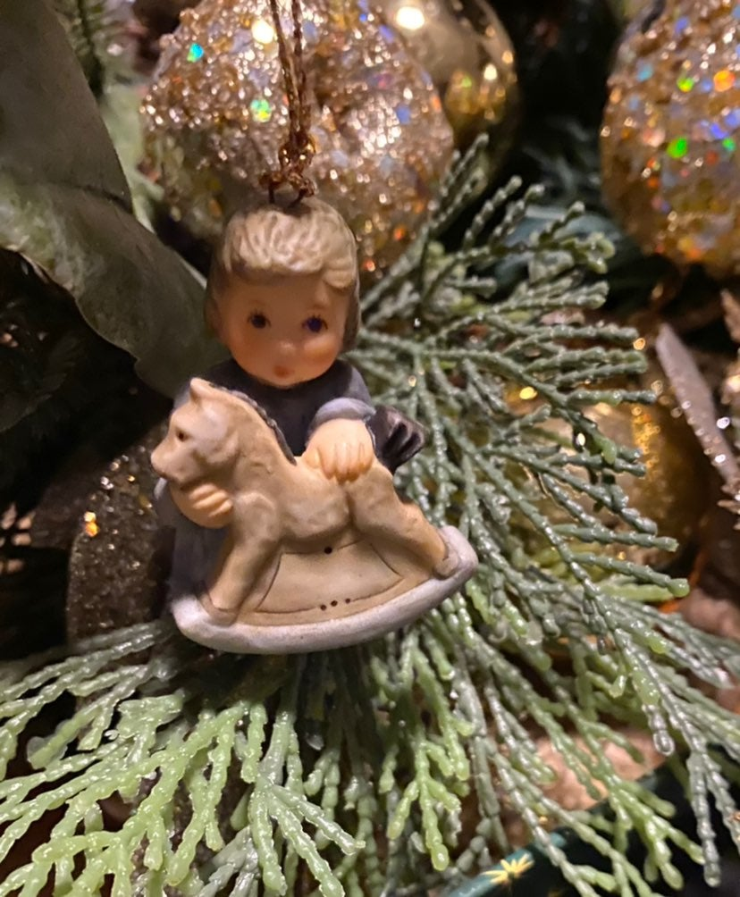 Berta Hummel Rock A Bye Baby Ornament