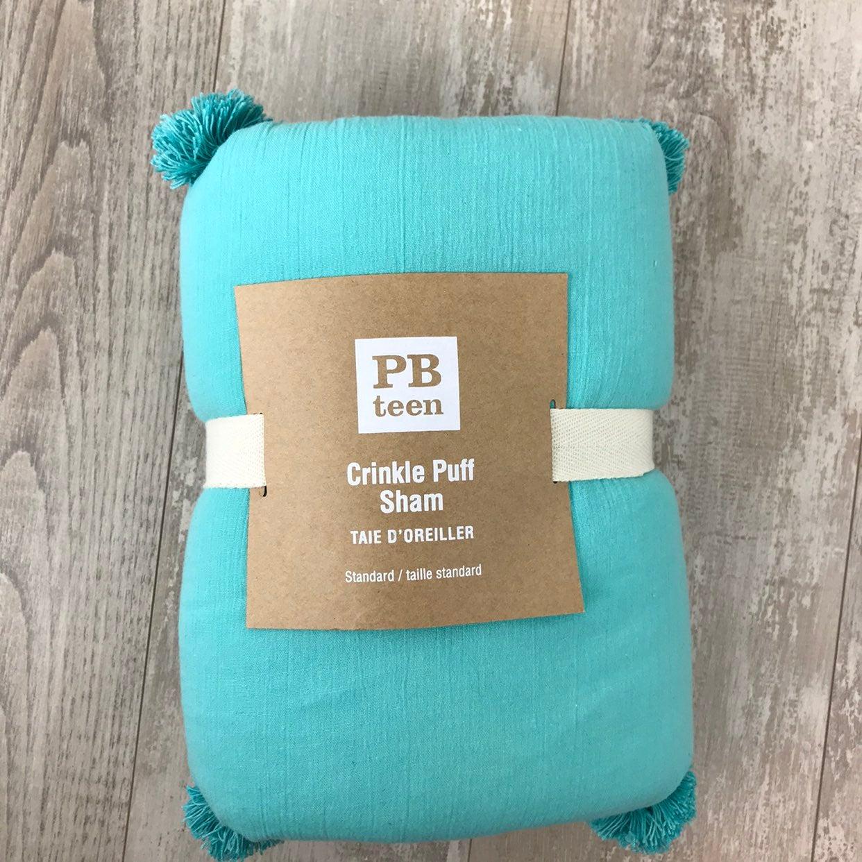 Pottery Barn Teen Puff Pillow Sham