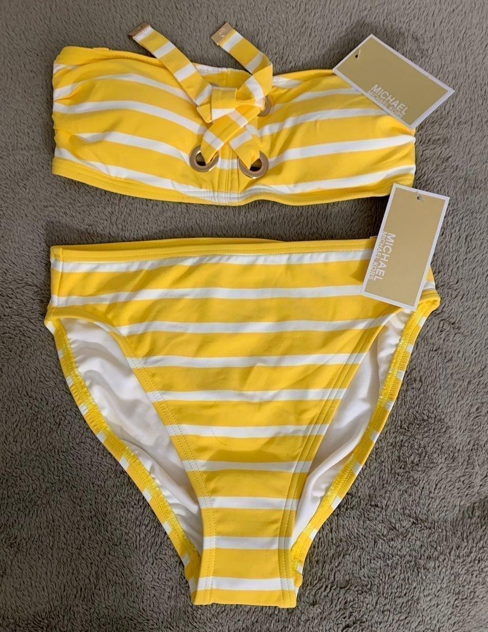 Michael Kors Cruise 2020 XS 2pc Swimsuit