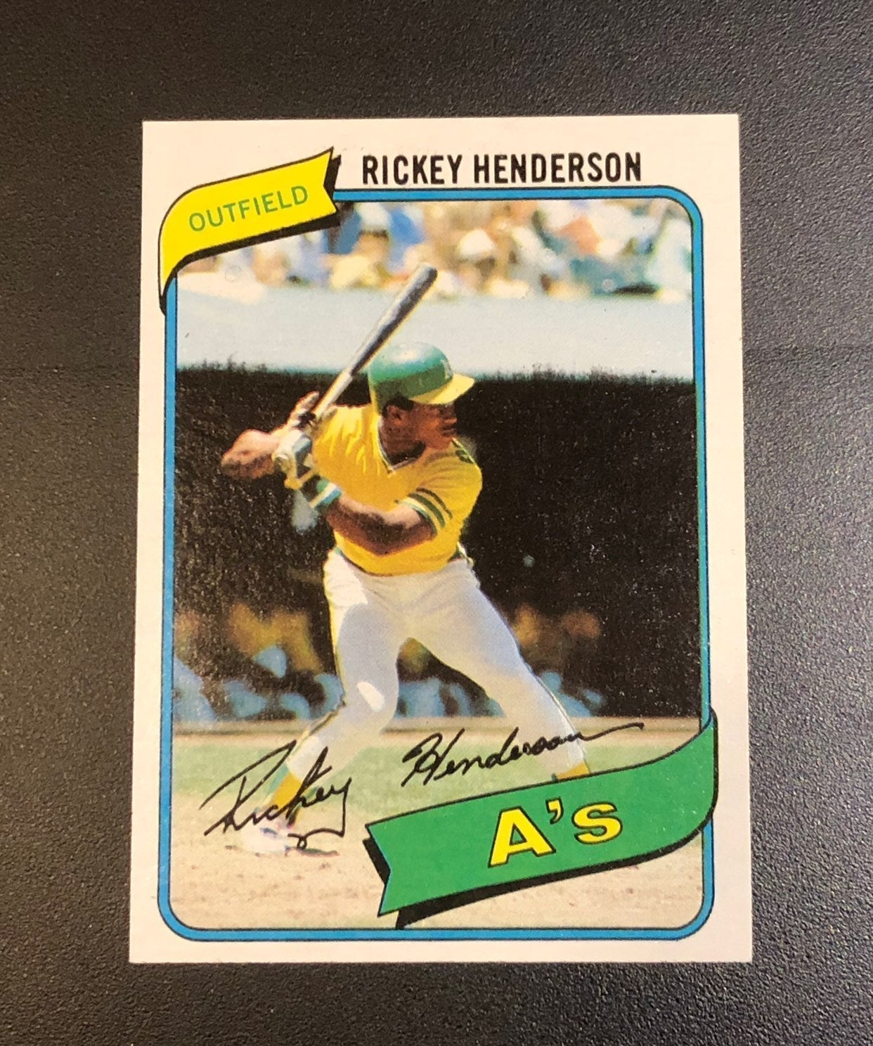 1980 Topps Rickey Hdnderson RC Mint!