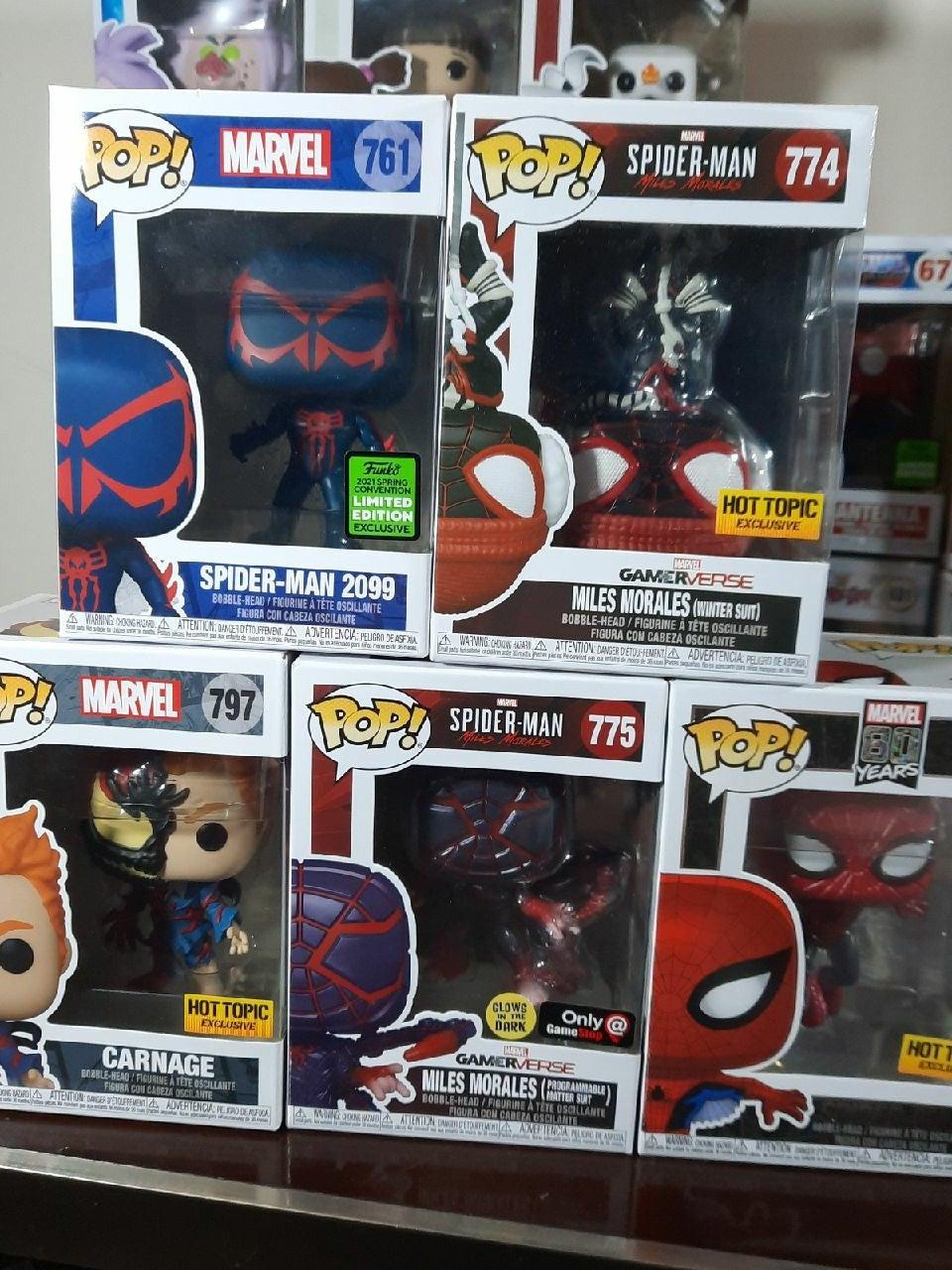 Spider-Man Universe Funko Pop exclusives