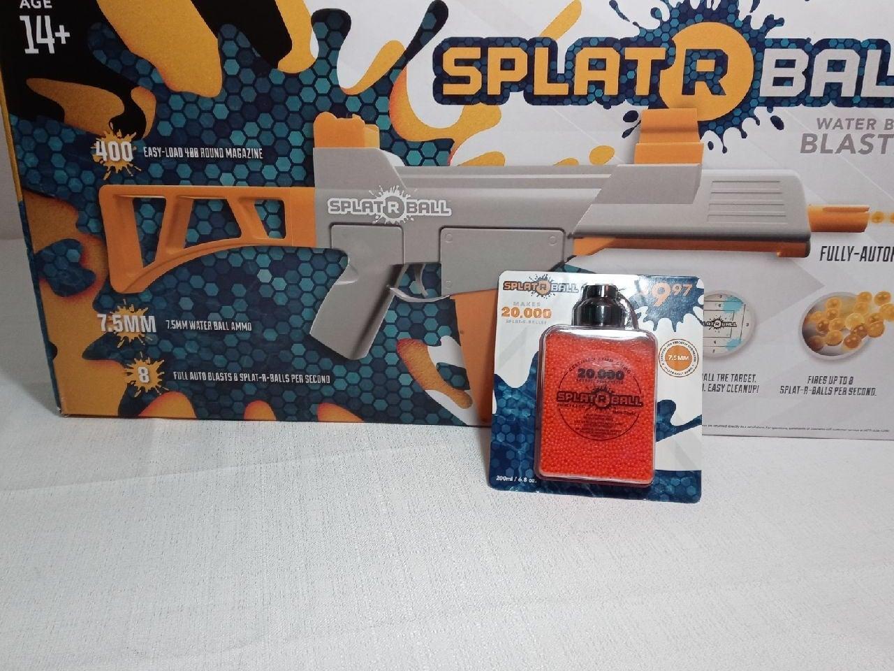 SPLAT R BALL water bead blaster and refi