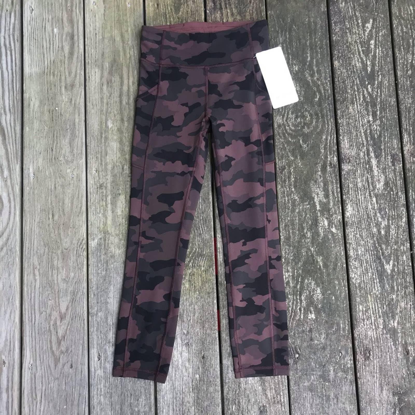 NWT Lululemon Invigorate Cammo leggings