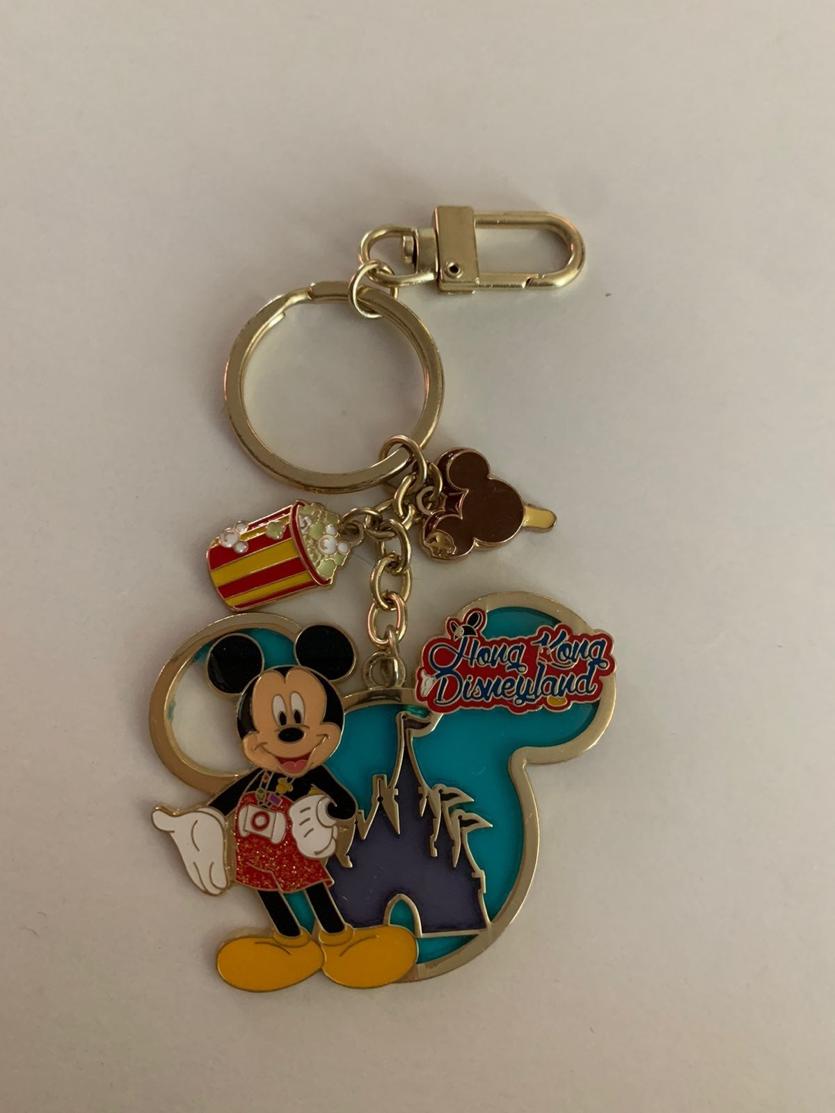 Disneyland Hong Kong Keychain
