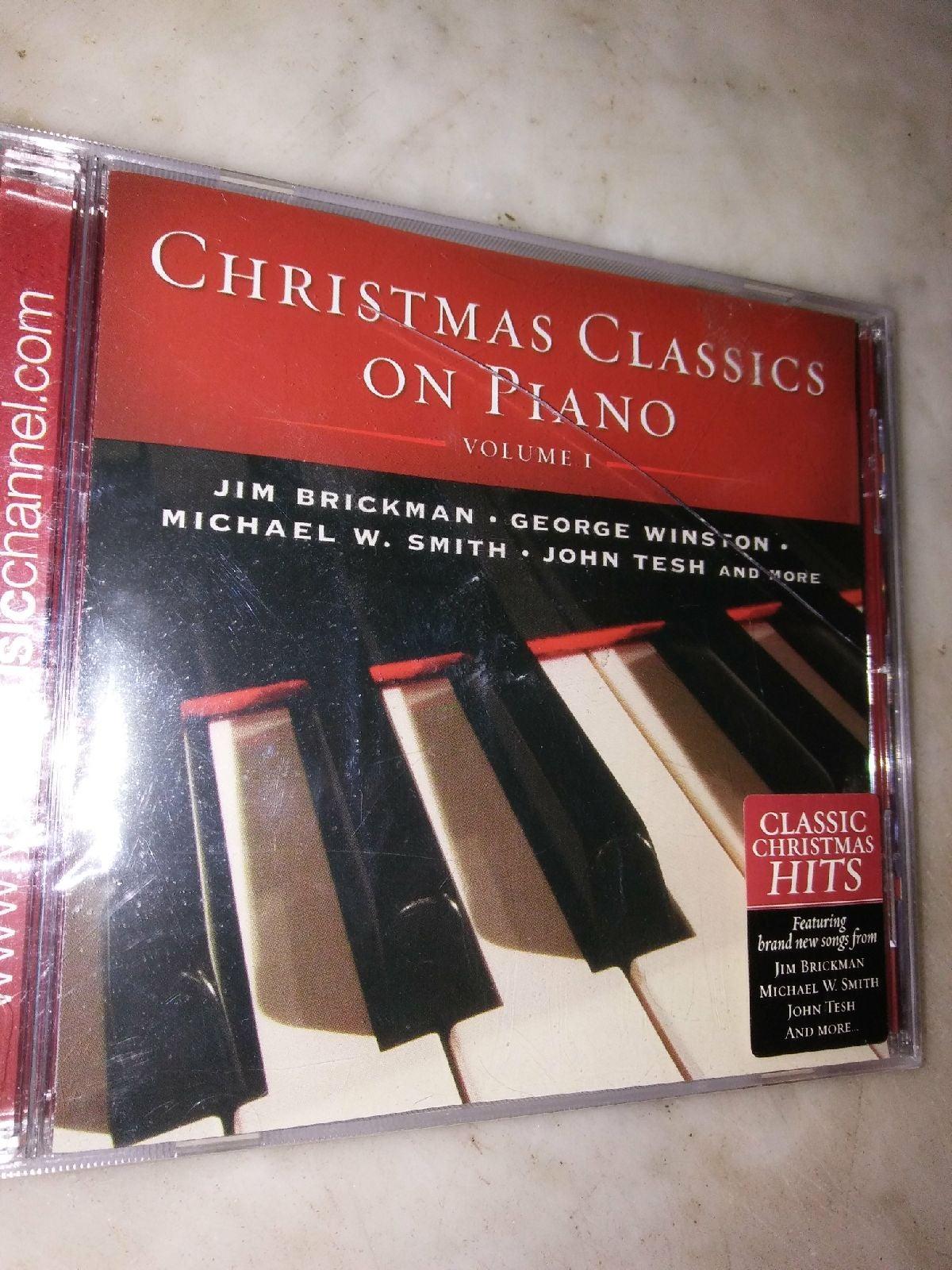 Christmas Classics on Piano CD vol 1