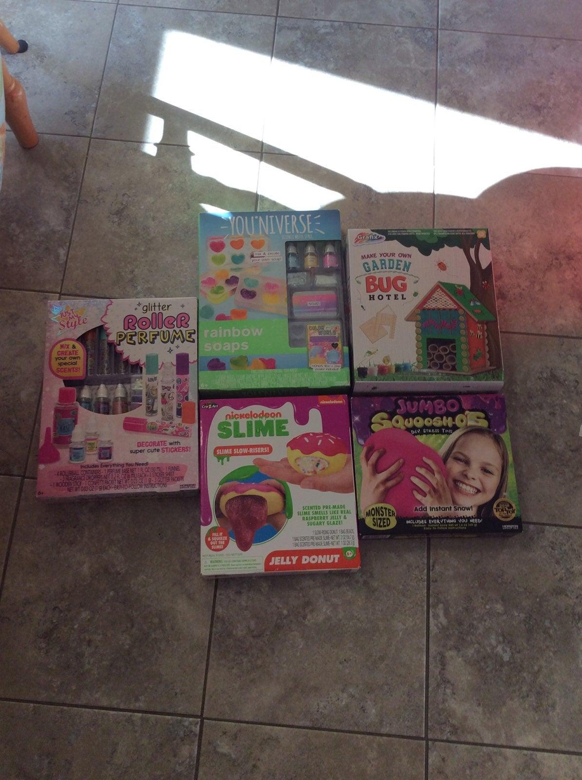 Craft kits slime kit