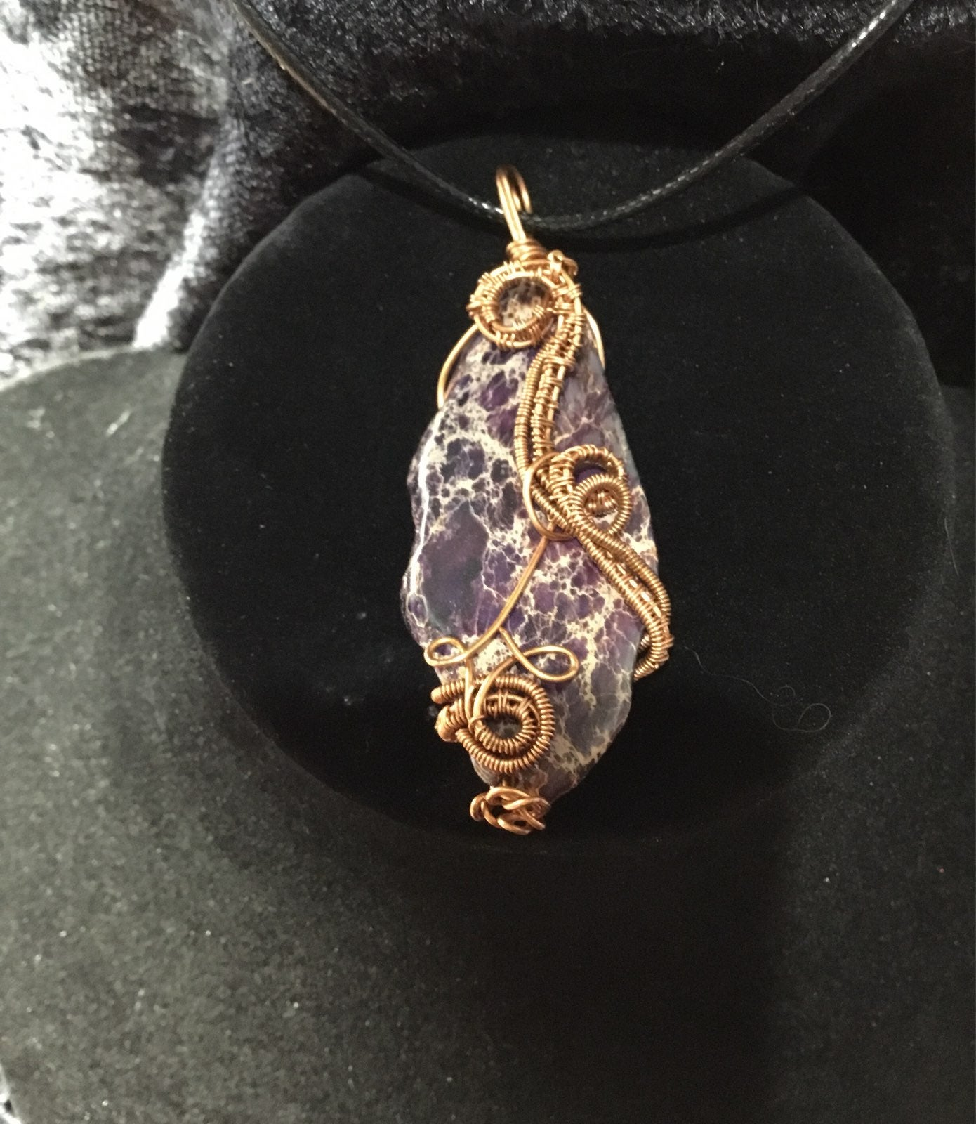 Purple Jasper pendant