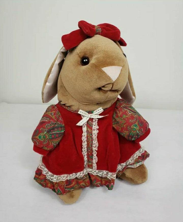 """Toys R Us Velveteen Rabbit 13"""" Plush"""