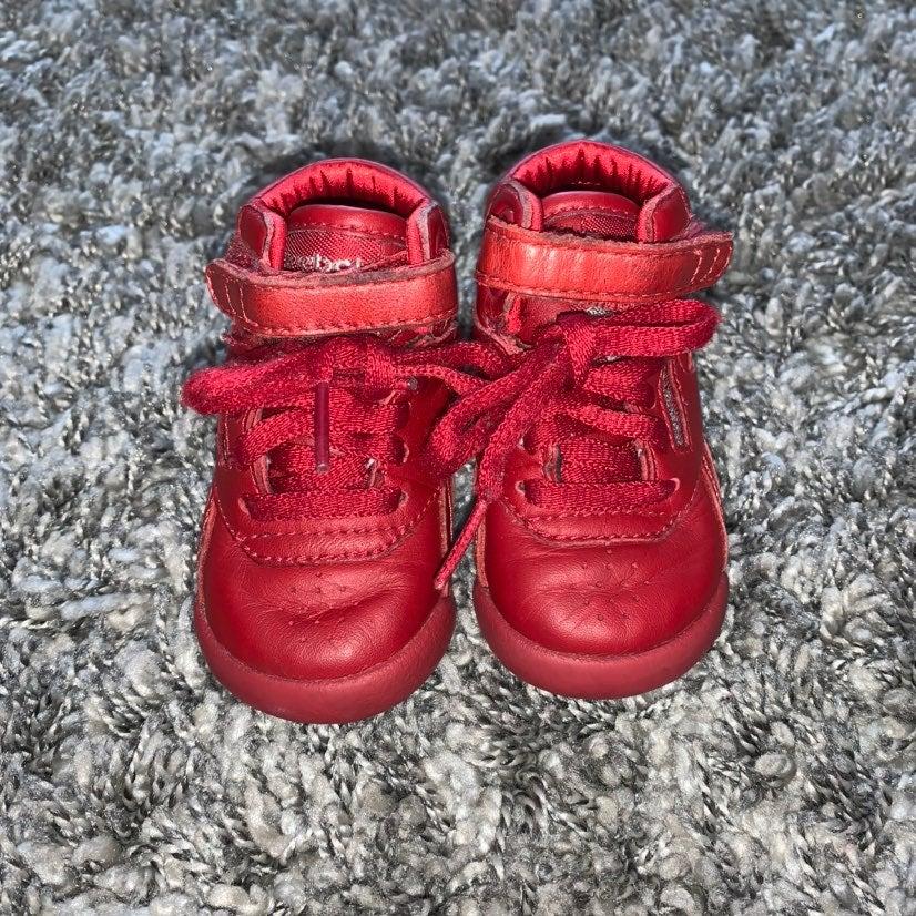 Infant Reebok Freestyle Hi Top size 3C
