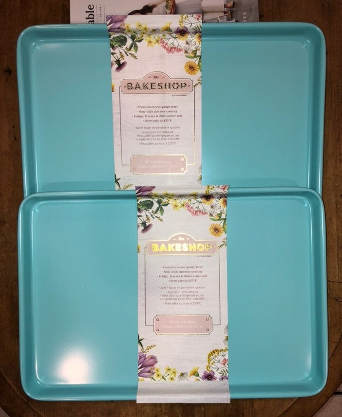2 Tiffany Blue MasterClass Cookie Sheets