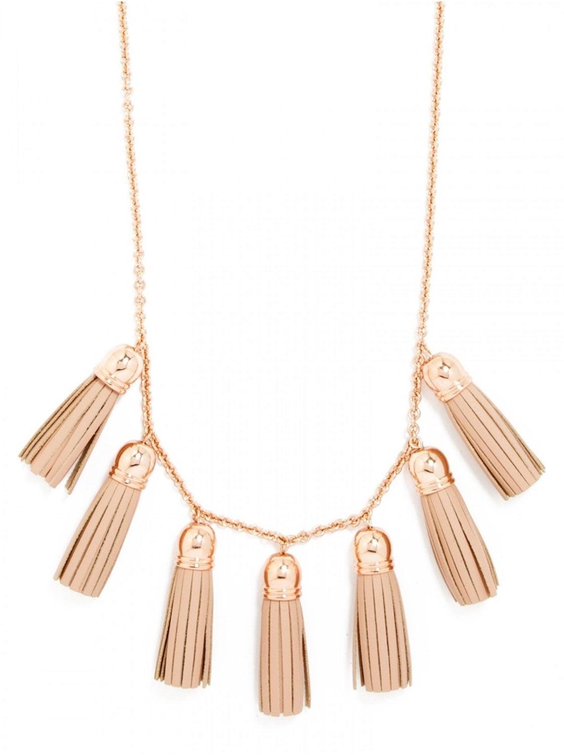 BaubleBar tassle necklace