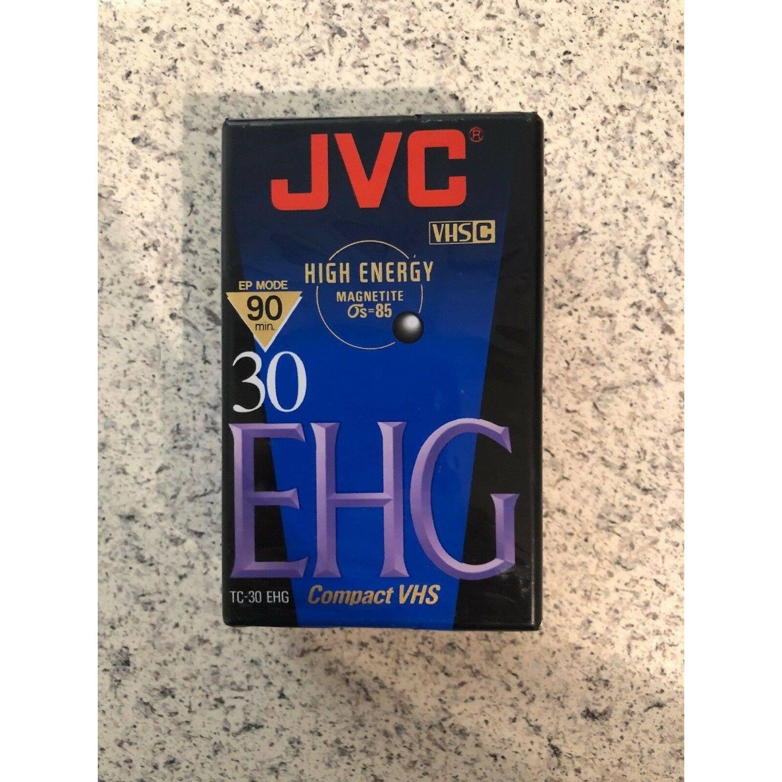 NEW JVC Compact VHS TC-30EHG SEALED