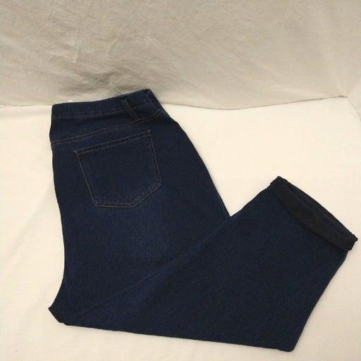 New AQ Capri Jeans Size 16w - 18w