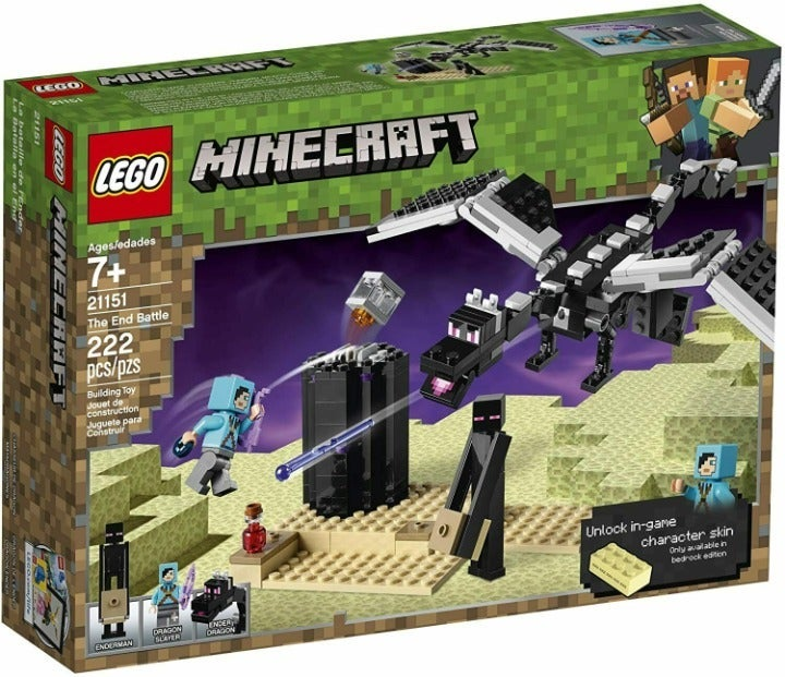 New LEGO Minecraft The End Battle 21151