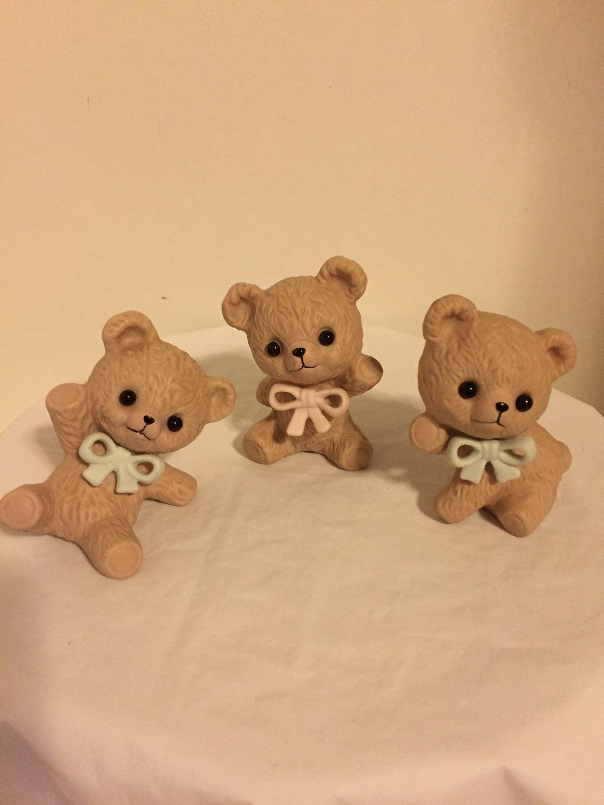 Ceramic Bears From Malaysia