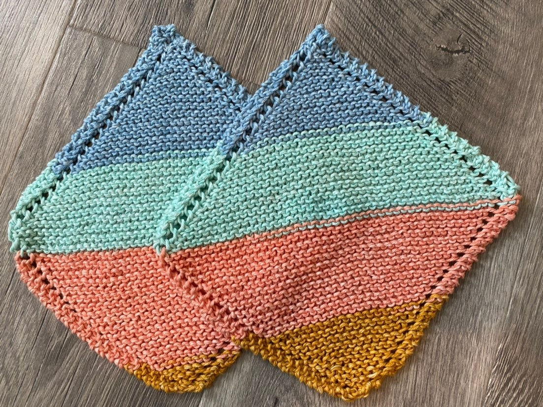 Knit Cotton Dishcloth