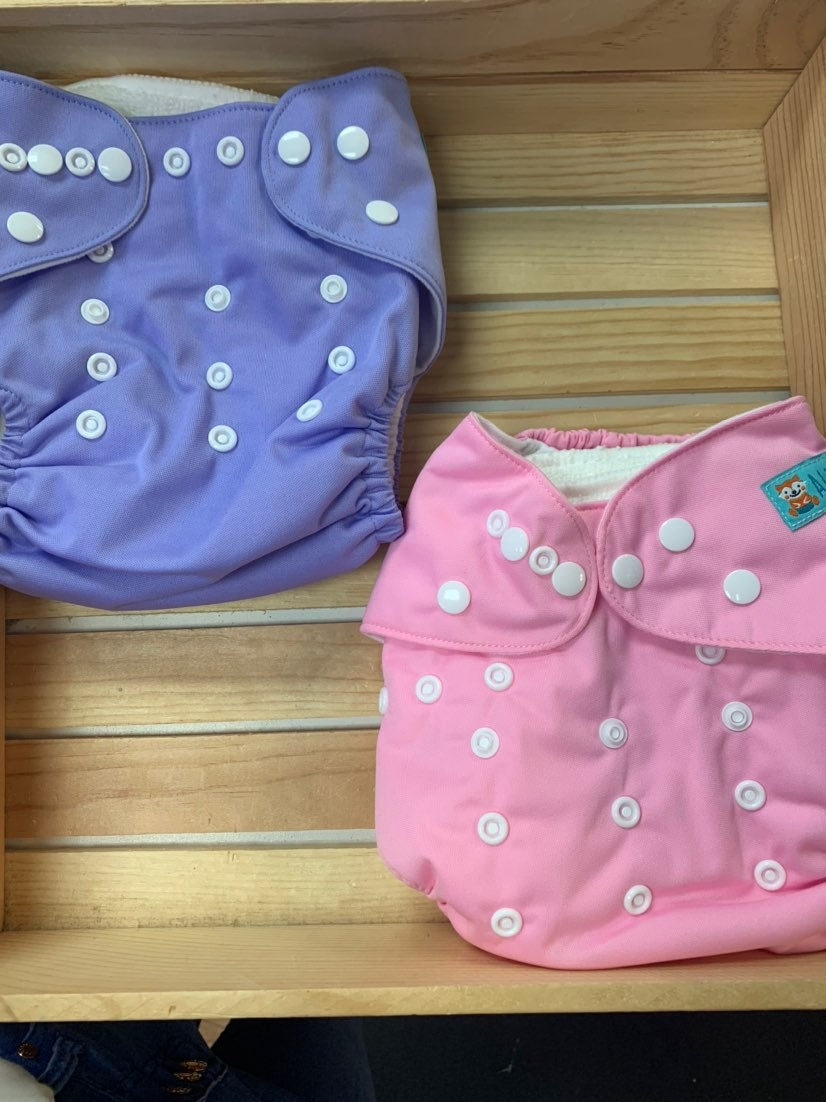 One Size Adjustable Cloth Diapers