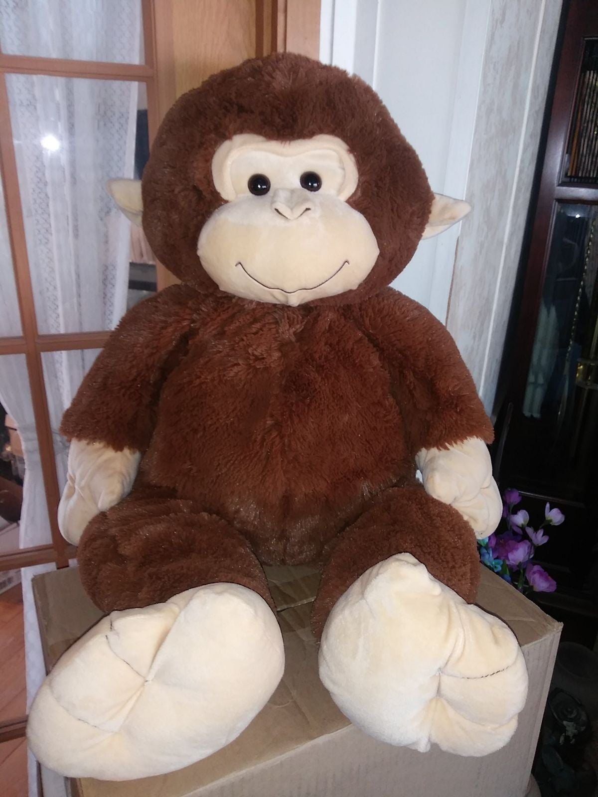 Hugfun International Monkey Jumbo Plush