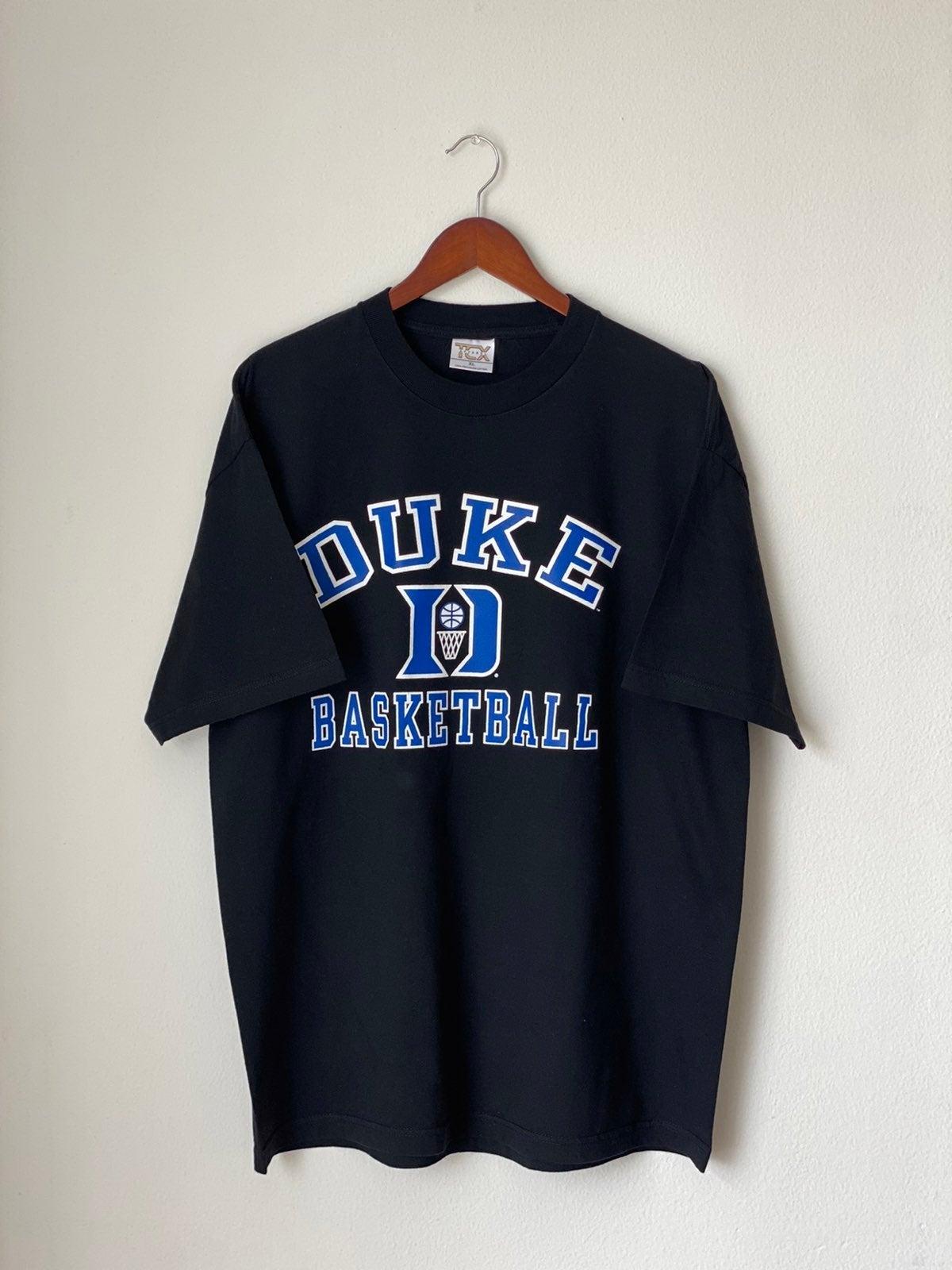 Vintage 90s Duke Basketball Shirt Sz XL