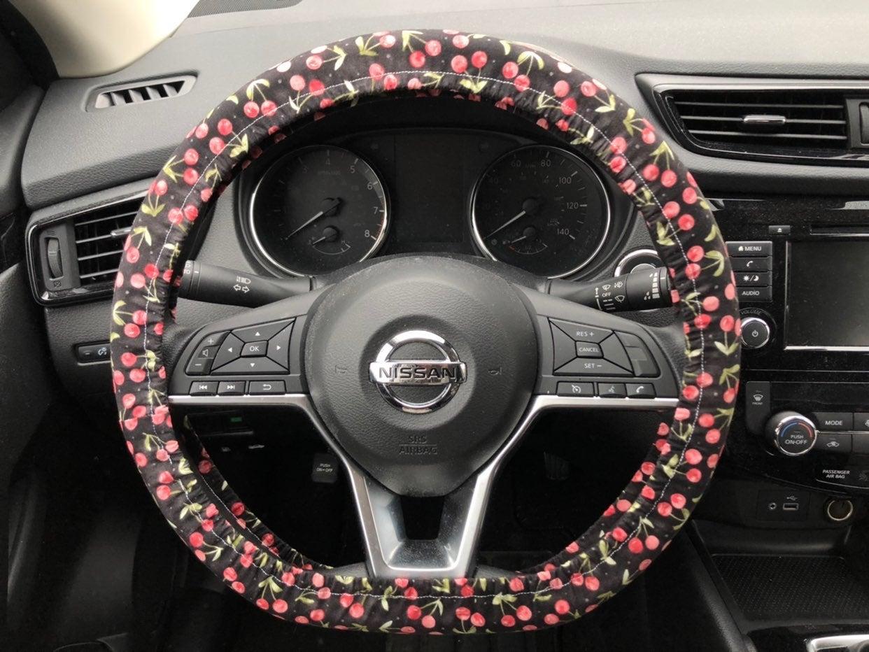 Cherry Steering Wheel Cover
